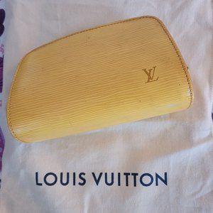Aut Louis Vuitton cosmetic bag & dust & shop bag